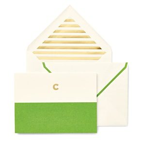 Kate Spade Personalized Notecard Set