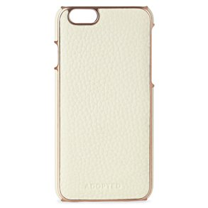 Adopted Rose Gold and Leather iPhone Case