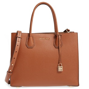Michael Kors Pebbled Leather Mercer Tote