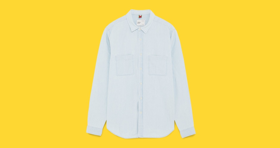 Zara Lightweight Denim Shirt