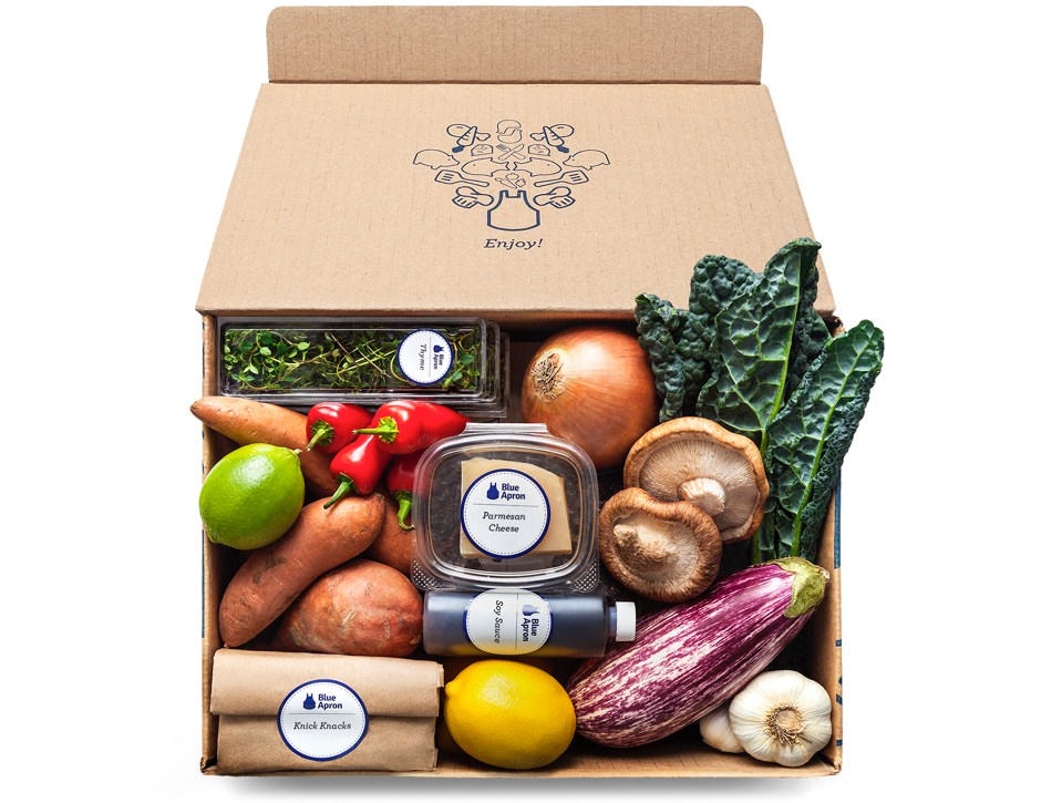 Blue Apron Meal Kit Delivery Service
