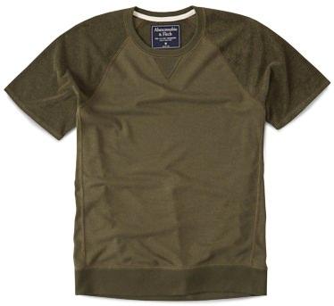 Abercrombie & Fitch Short-Sleeve Sweatshirt