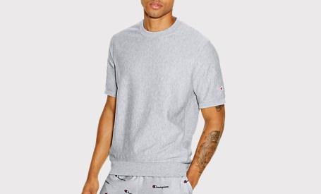 Champion Short-Sleeve Sweatshirt