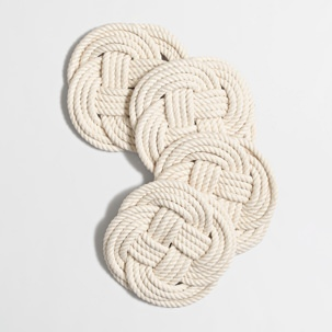 J.Crew Factory Rope Coasters