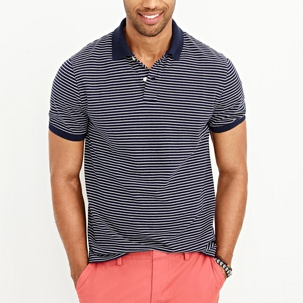 J.Crew Factory Striped Polo