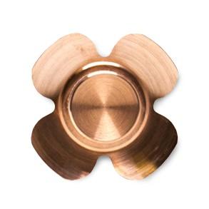 VC EDC Clover Brass Fidget Spinner