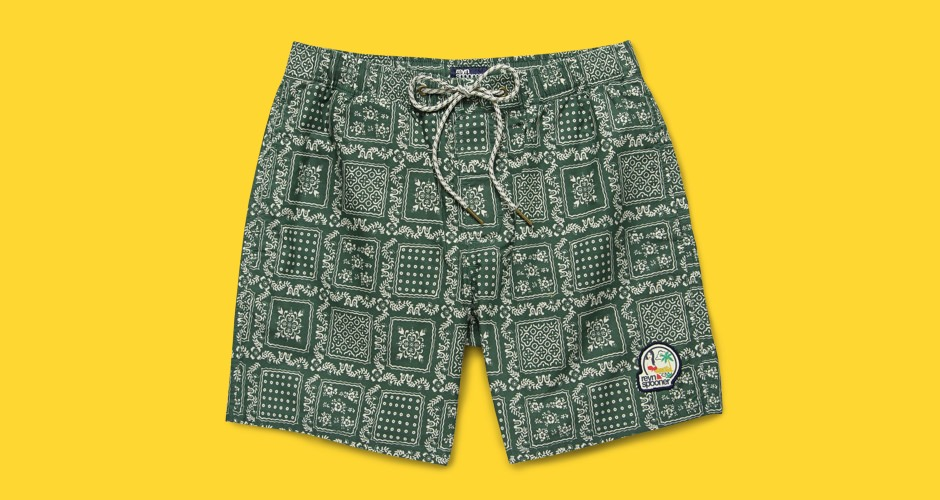 Reyn Spooner Original Lahaina Swim Trunks