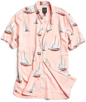 Barney Cools Yacht Club Short Sleeve Shirt