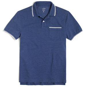 J.Crew Factory Tipped Polo