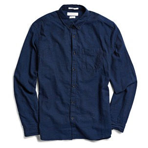 Urban Outfitters Cross-Dyed Button-Down