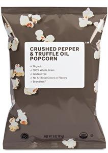 Brandless Organic Crushed Pepper & Truffle Oil Popcorn