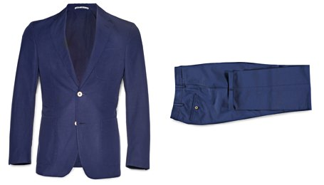 Suitsupply Lightweight Cotton Suit