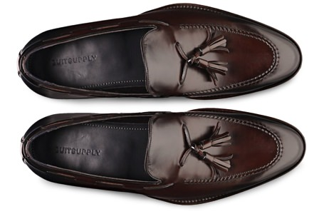 Suitsupply Italian Leather Tassel Loafers