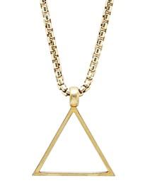 Degs & Sal Triangle Pendant