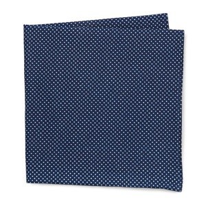 The Hill-Side Indigo Pocket Square