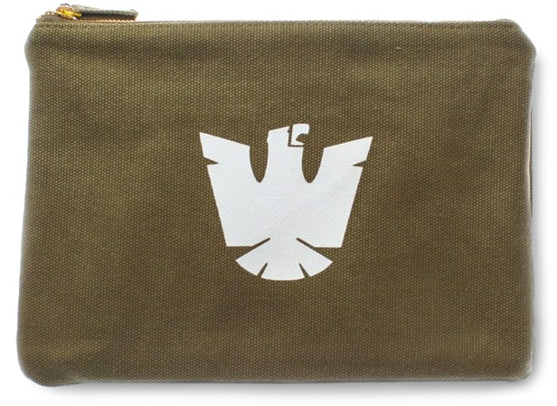 Izola Lined Canvas Pouch