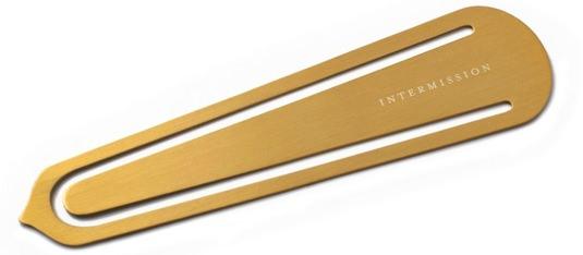 Izola Brass Bookmark