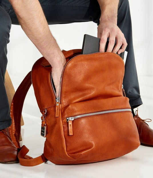 Shinola Leather Runwell Backpack