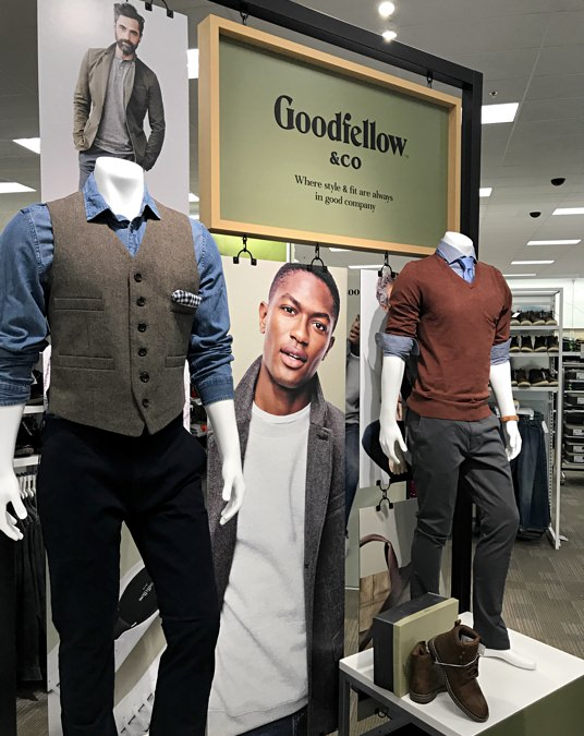 Goodfellow & Co. at Target