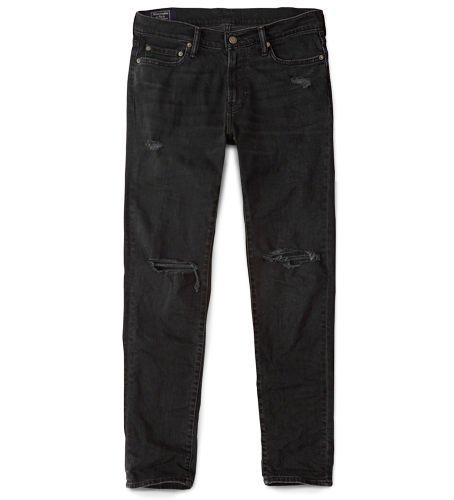 Abercrombie & Fitch Slim Distressed Jeans