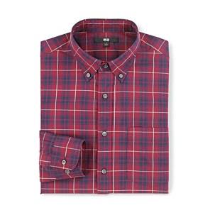 Uniqlo Broadcloth Plaid Shirt