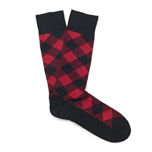 Sorley Buffalo Plaid Socks