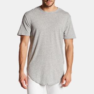 Love Stitch Long Line Neck T-Shirt