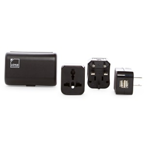 Lewis n Clark Dual USB Charger/Adapter Kit