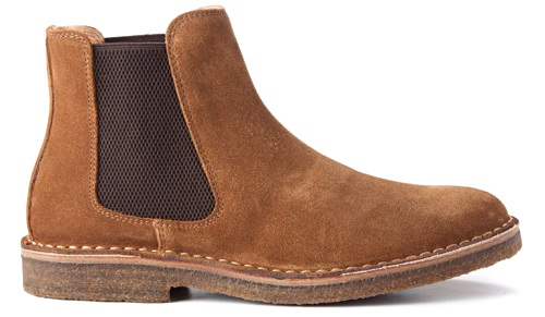 Astorflex Suede Chelsea Boots