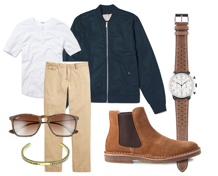 What We're Wearing: Casual Weekend Date