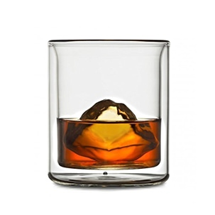 Coastline Double Wall Whiskey Glass