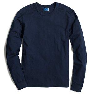 J.Crew Factory Textured Long-Sleeve T-Shirt