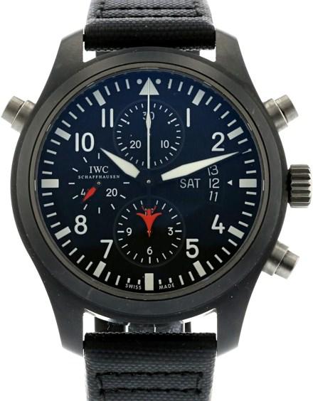 IWC Top Gun Pilots Double Chronograph