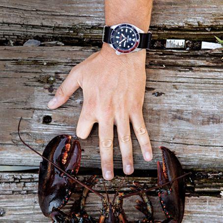 Deep Blue Nato Diver Automatic Watch