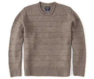 Abercrombie & Fitch Airspun Rollneck Sweater