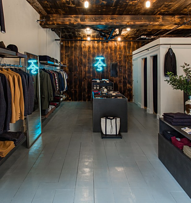 Inside The Hill-Side's New Shop