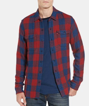 Levi's Flannel Work Shirt