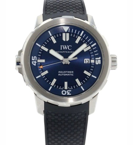 IWC Aquatimer Automatic Expedition Jacques-Yves Cousteau Blue