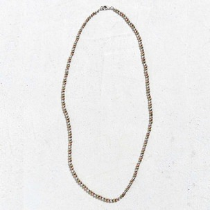 Urban Outfitters Antique Tr-Tone Beaded Necklace