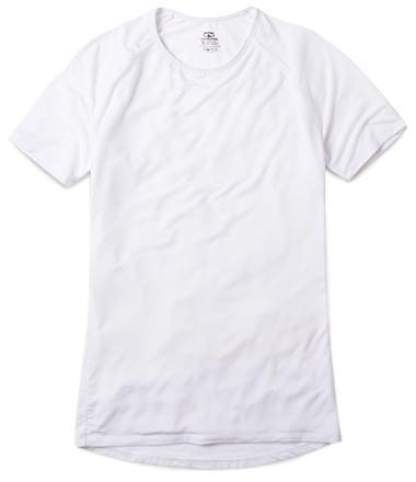 Ribbed Tee White Men's Undershirt