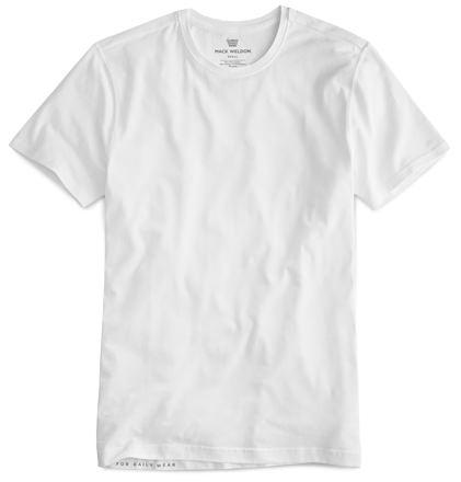 Mack Weldon White Men's Undershirt
