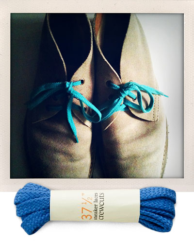 Style Columns At Large By Michael Macko Just The Facts Bright Shoe Laces