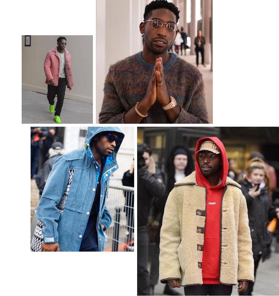 Tinie Tempah @tiniegram outfit inspiration