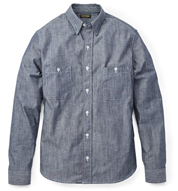 Flint and Tinder Indigo Workshirt