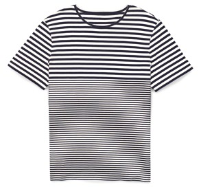 Club Monaco Varied Strip T-Shirt
