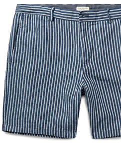 Club Monaco Striped Shorts