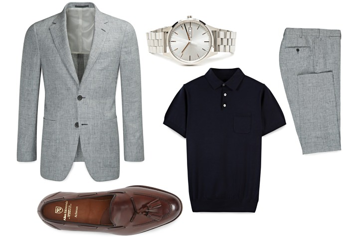 Continental Cool Spring Suit Pairings