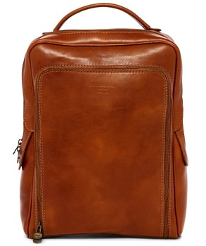 Persaman New York Ace Leather Backpack