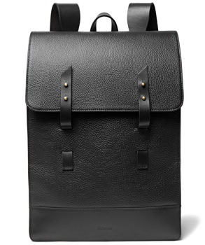 Miansai Harbour Leather Rucksack