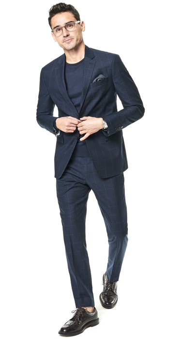 Todd Snyder Window Pane Cotton Suit